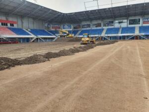 Nowa Murawa na Stadionie Gliwickiego Piasta 004