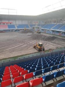 Nowa Murawa na Stadionie Gliwickiego Piasta 005