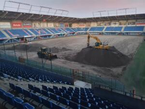 Nowa Murawa na Stadionie Gliwickiego Piasta 006
