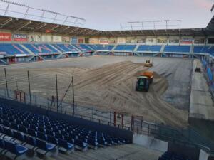 Nowa Murawa na Stadionie Gliwickiego Piasta 009