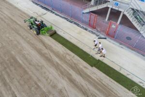 Nowa Murawa na Stadionie Gliwickiego Piasta 011