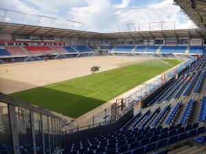 Nowa Murawa na Stadionie Gliwickiego Piasta 012